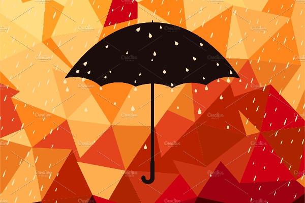 Rain Animated Background