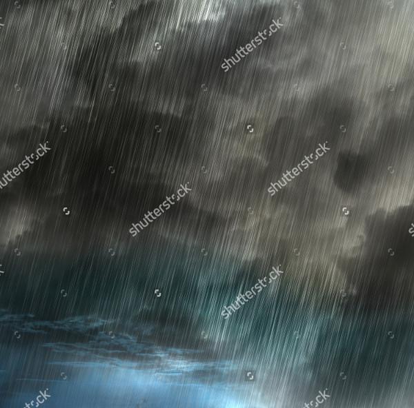 Rain Background Illustration