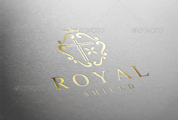 Royal Shield Logo Template