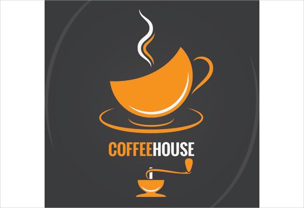 Vector Coffee Menu Logo Design Free