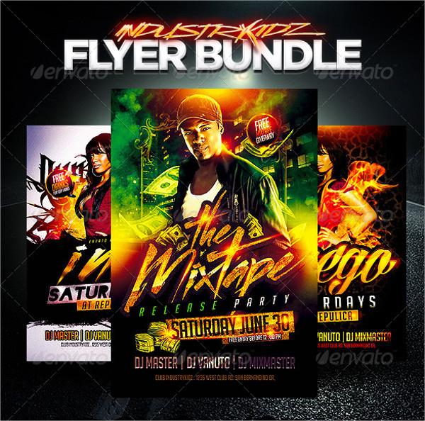 Awesome Hip Hop Flyers Bundle