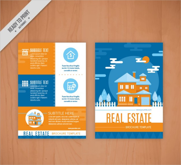 Free Flat Real Estate Flyers