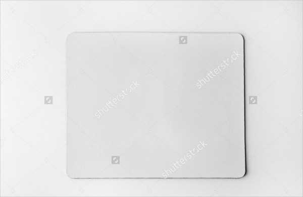 Blank Mouse Pad Mock-Up