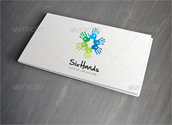 Arts Company Logo Template
