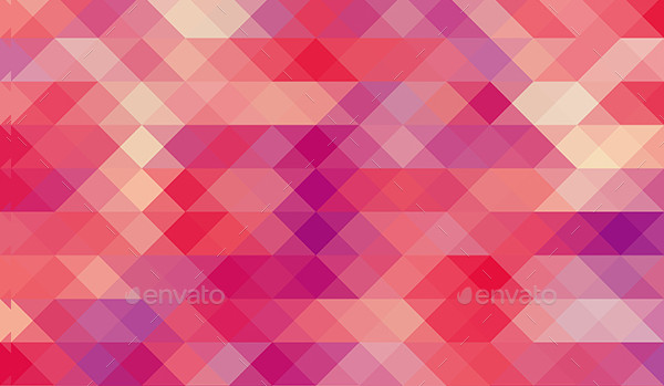 Bright Mosaic Background Set