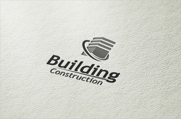 Building Construction Style Logo Template