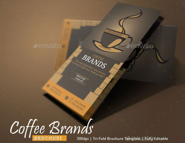 Classy Brochure for Coffee Shop
