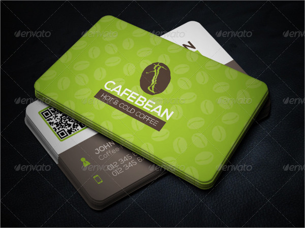 Hot & Cold Coffee Business Cards