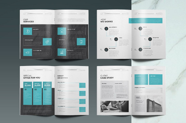 Corporate Company Proposal Templates