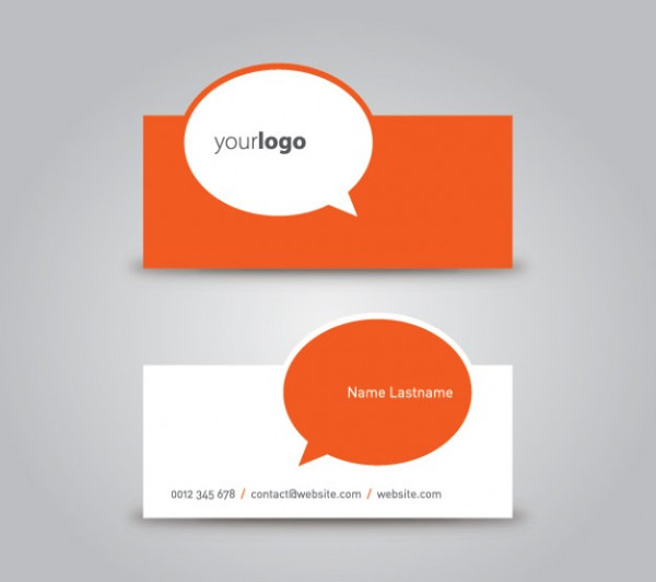 Die Cut Business Card Template Free Download