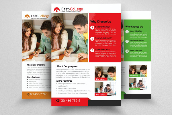 Perfect College Flyer Template