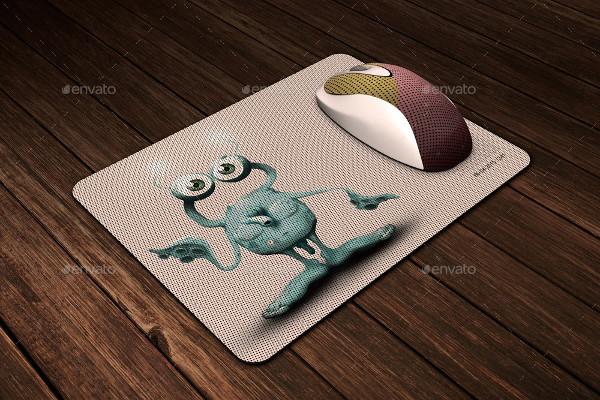 Elegant Mouse Pad Mock-Up