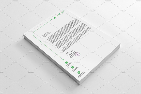 Unique Letterhead Template