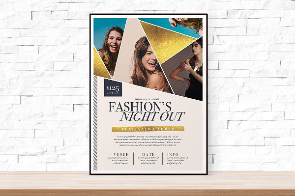 Fashion Night Out Flyer Template