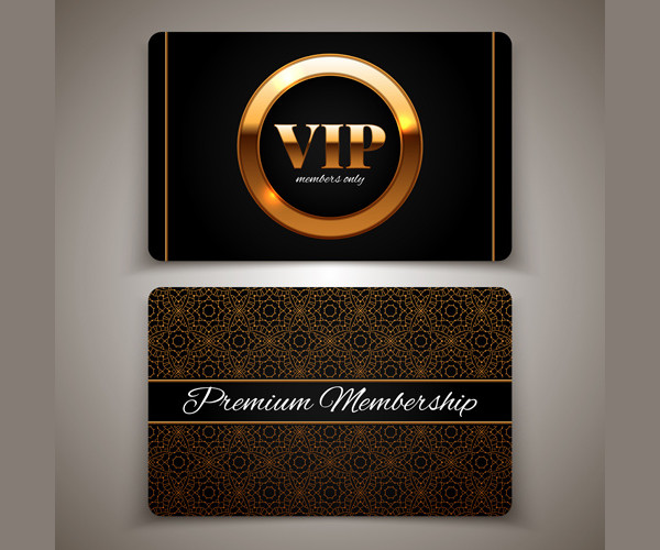 Luxury Vip Card Template