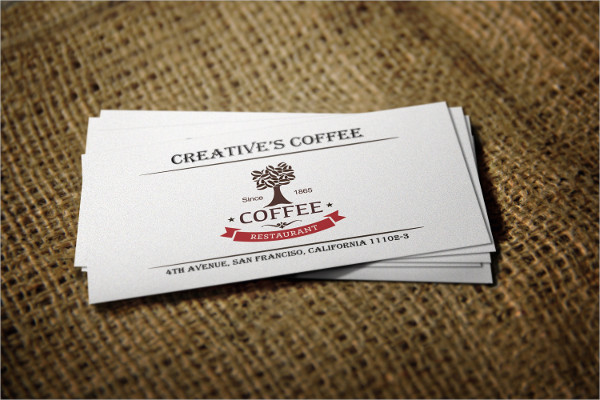 Retro Coffee Business Cards