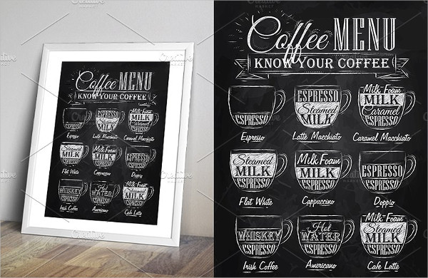 Set of Coffee Menu Templates