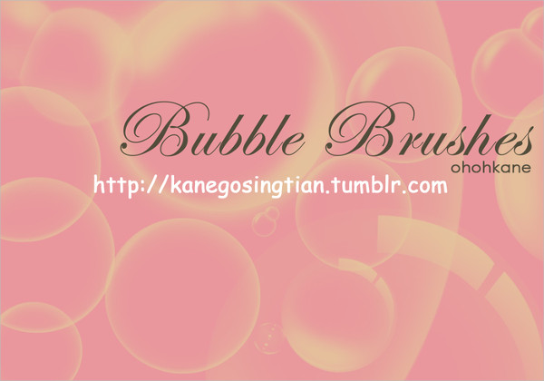 Free Soapy Bubbles Brushes