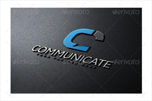 Stylish Communicate Logo Design