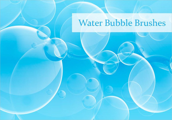 Water Bubbles Brushes Free Download
