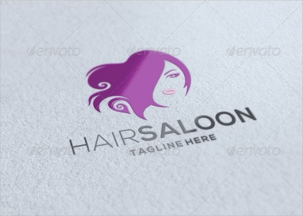 Professional Hair Salon Logo Template