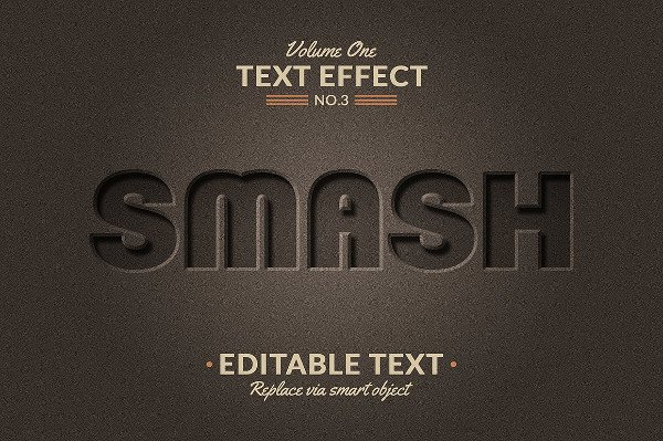 Modern 3D Photoshop Text Effects