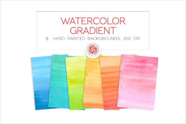 6 Watercolor Backgrounds Download