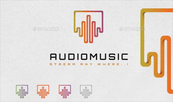 Audio Music Studio Logo
