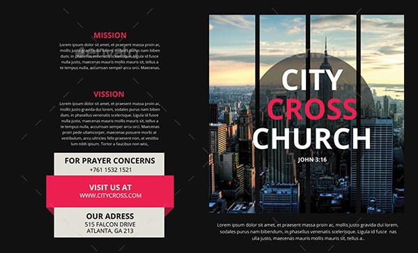 Custom Church Brochure Template