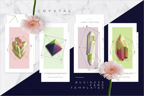 Crystal Business Cards Collection