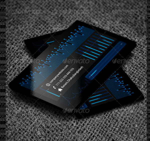 DJ Music Company Business Card Templates