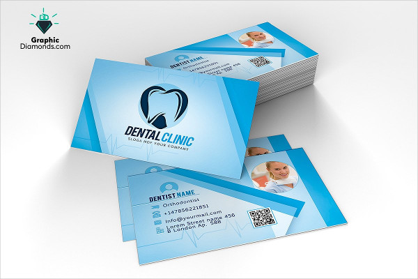 Modern Business Card for Dentists