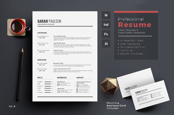 Female Infographic Resume