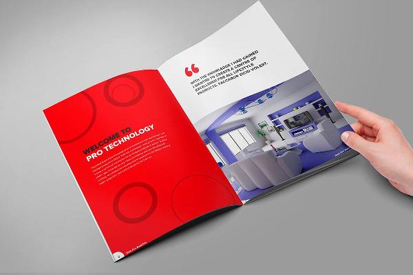 Home Furniture Brochure InDesign