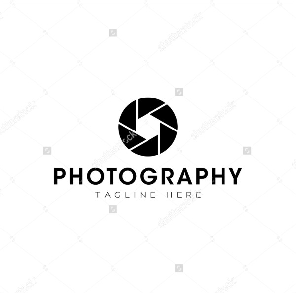 Online Photography Logo Template