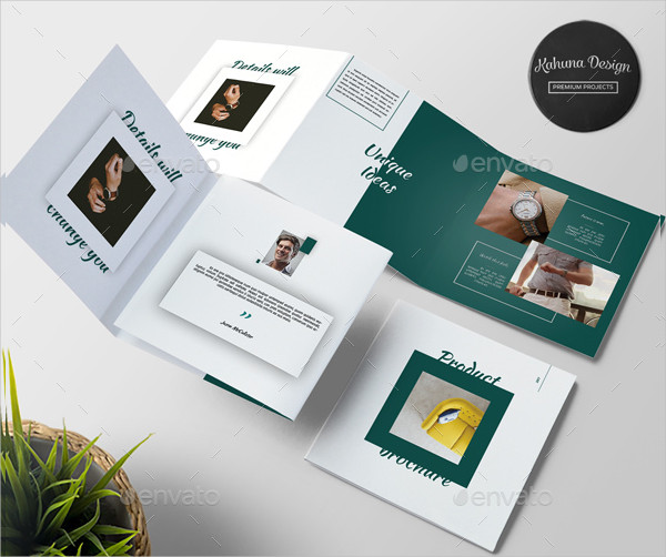 Product InDesign Brochure Template