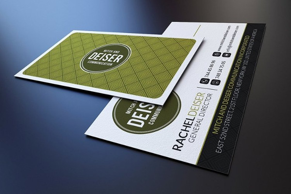 Professional Business Card Photoshop