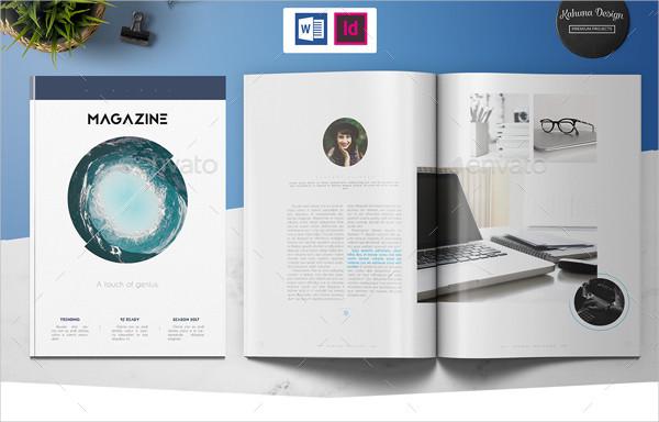 Professional Minimalistic Magazine Template