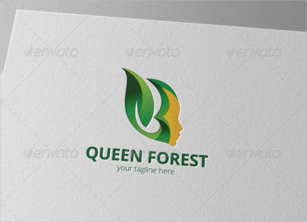 Queen Forest Business Logo