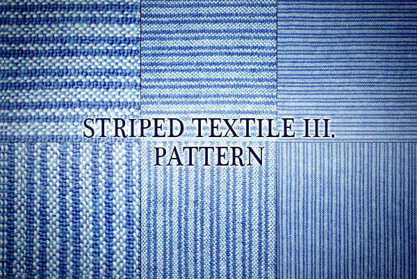Vintage Striped Textile Pattern