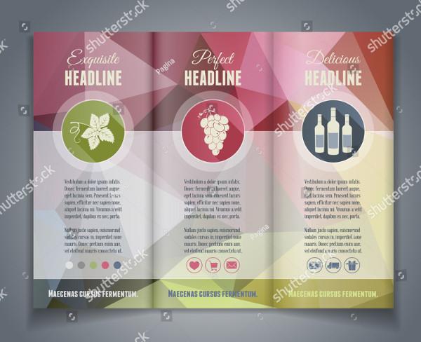 Vector Tri-Fold Flyer or Brochure Design