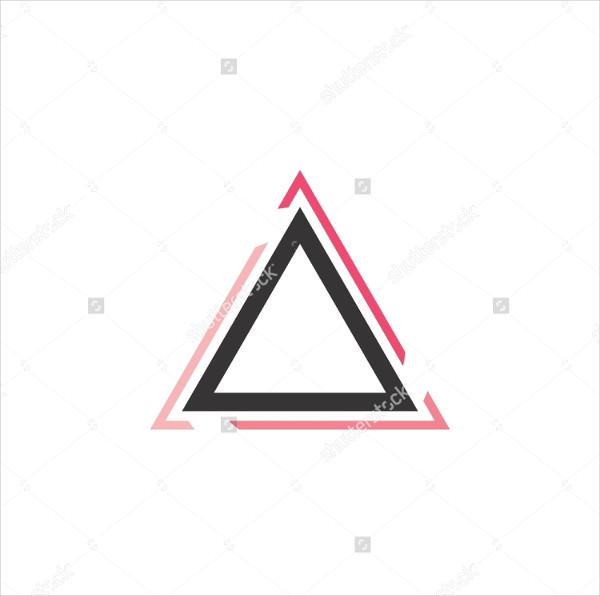 Modern Triangle Logo Design Download