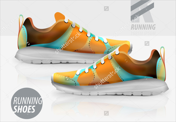 Vector Shoes Packaging Mock-Up