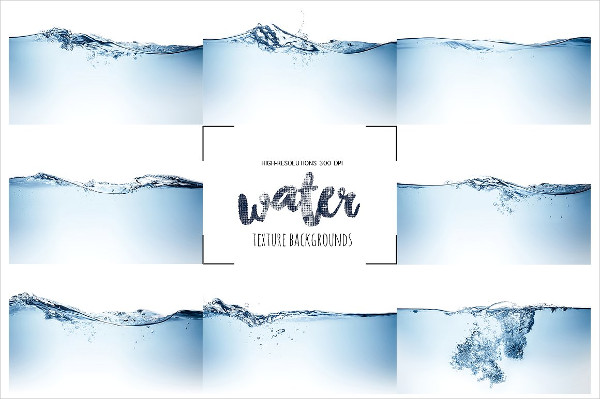 Water Clean Waves Background