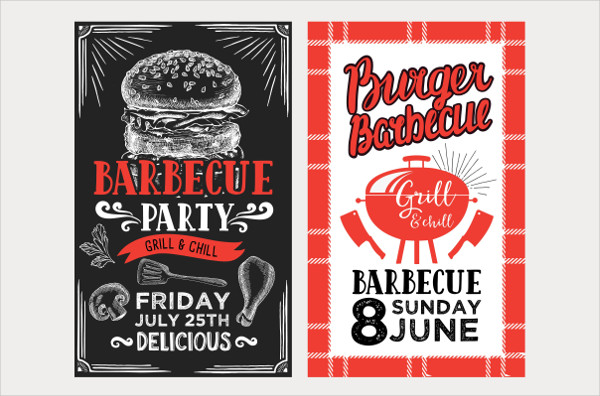 Printable BBQ Menu Templates