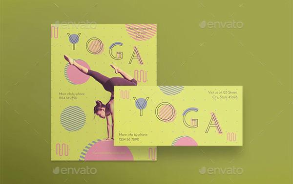 Best Yoga Studio Flyers