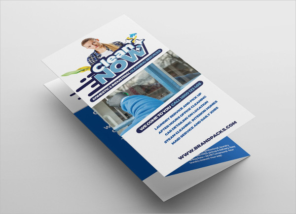 Window Cleaning Service Brochure Template
