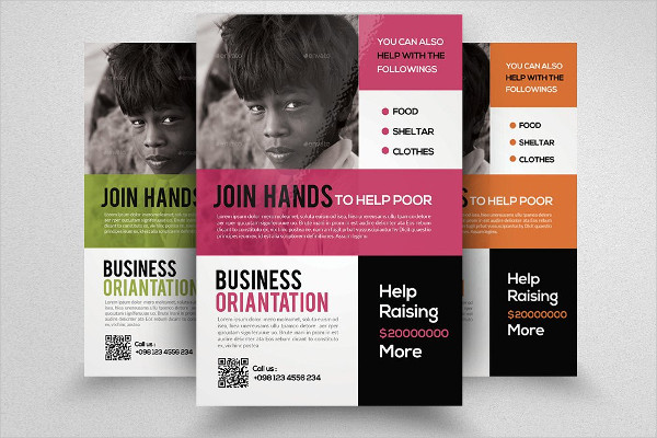 Corporate Charity Event Flyer Template