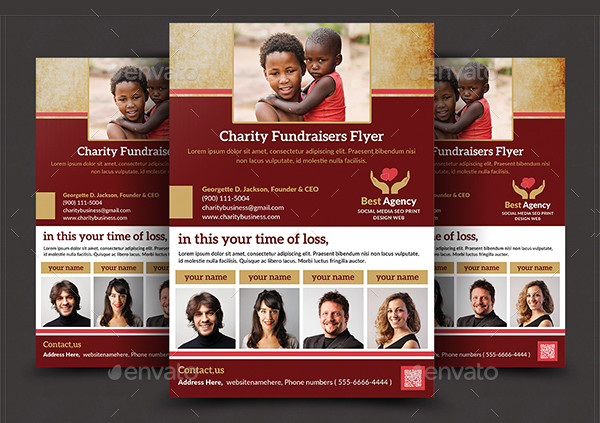 Creative Charity Flyer Templates