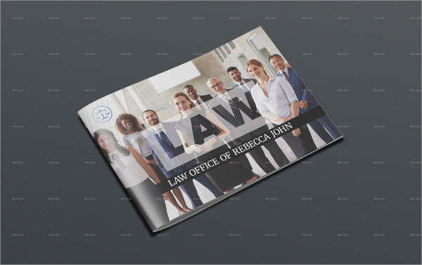 Unique Brochure Template for Law Agency